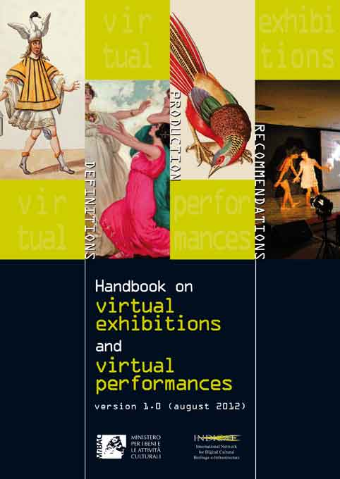 INDICATE Handbook on virtual exhibitions and virtual performances: cover